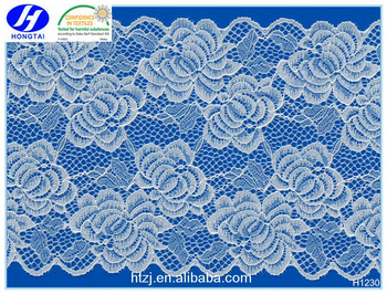 2016 China Fancy hot sales new style lace fabric net material for dresses