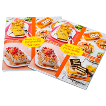 Matt art paper overseas colorful high quality cook book printing wholesale