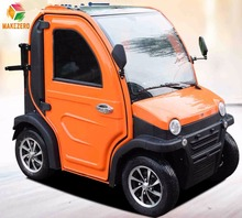 Mini electric car EEC approved with 2seats Small passenger electric car for 2 person