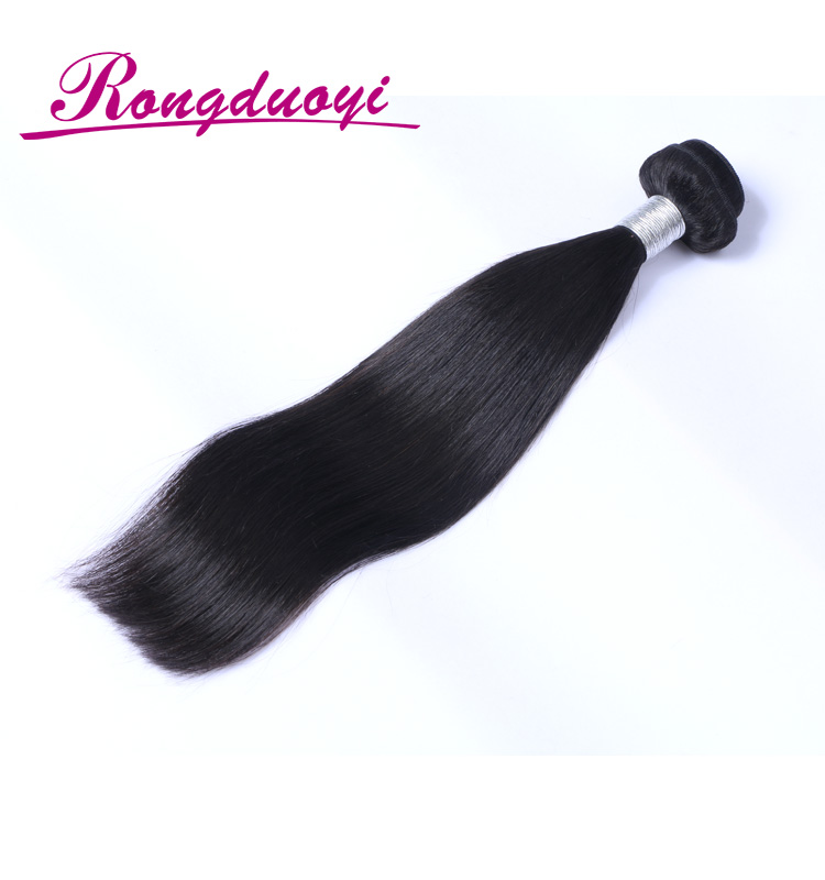Grade 8A Cheap Brazilian Hair Weave White Women Silky Straight Human Hair Extensions