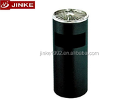 Commercial Office Metal Recycle Dustbin, Standing Eco Garbage Disposal For Sale