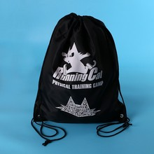 BSCI audited china factory cheap ripstop fabric christmas gift bag promotional nylon polyethylene bag small drawstring bag
