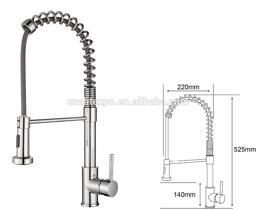 small bale easy installation kitchen mixer steel swivel spout with wholesale price