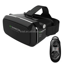 everybody !! shinecon VR headset 3D Google Glass VR 3D Plastic Edition Head Mount Virtual Reality 3D Glasses Active