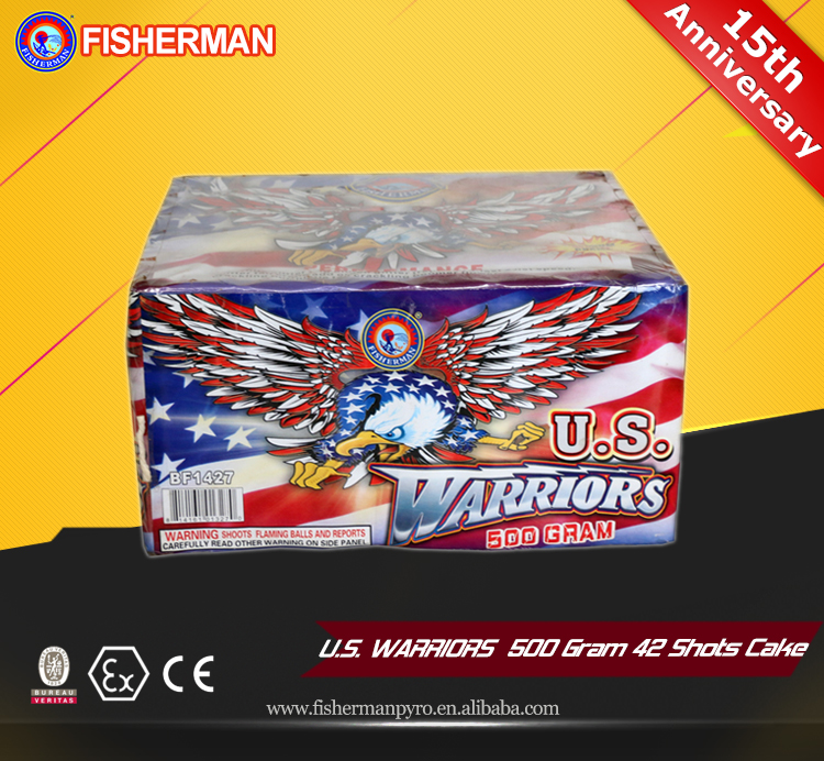 Magic shots creative product consumer cakes fireworks for sale