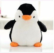 2017 New products cheap cute baby penguin soft plush toy
