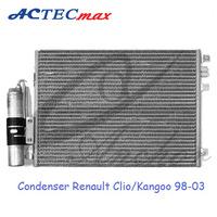 Auto AC Condenser for Renault Clio Kangoo 98-03, 8200024038/7700428083/8200106950/8200757789/8671017585