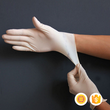 China factory sell latex nitrile vinyl medical gloves