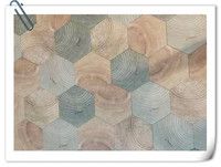 wooden floor tile,hexagonal wood porcelain tiles