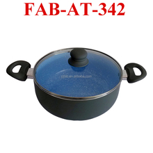 Aluminum Non-stick Ceramic Stone Cooking Pot