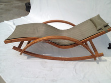 Outdoor furniture adjustable sun lounger chaise lougner lounger chair --ODF502