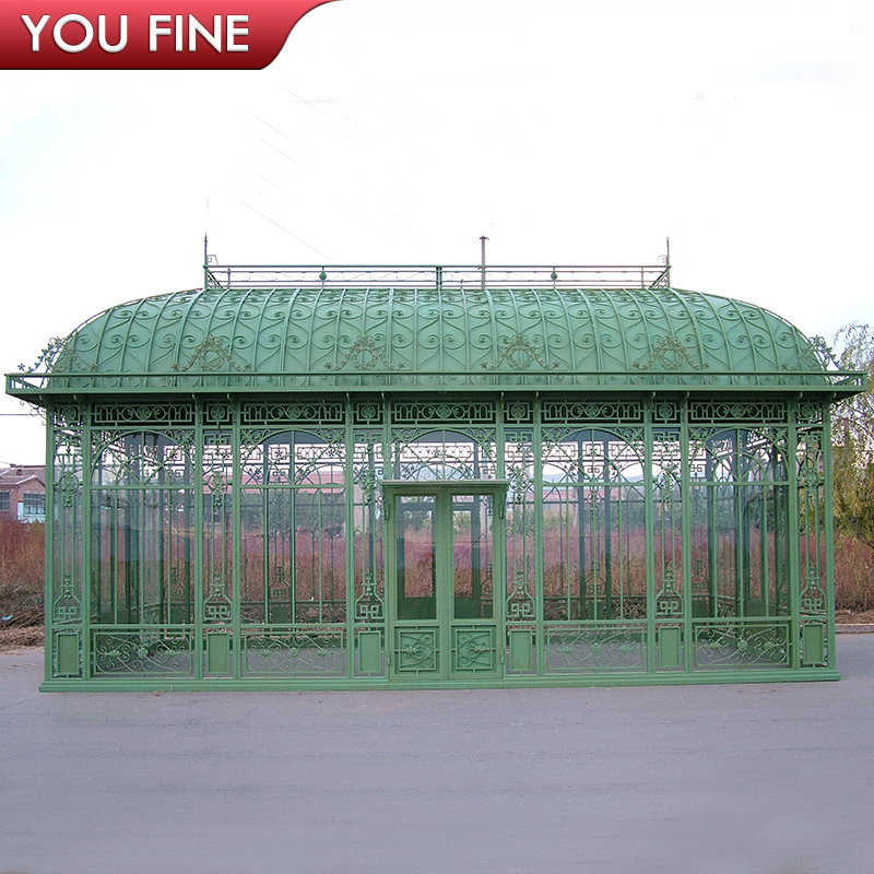 Outdoor Garden Wrought Iron Green House