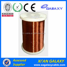 Excellent oil resistance Insulated Electric Magnet Wire enameled electrical outlets for aluminum wiring
