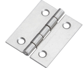 Flip look satin Nickel us15 Steel Alloy wooden door hinges wood window hinge