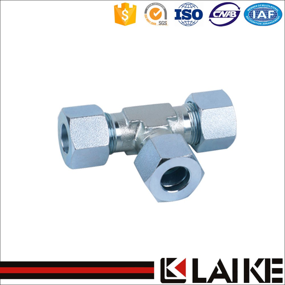 Hydraulic hose Fitting Metric Tee (AD)