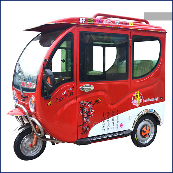 2 or 3 type doors enclosed 3 wheel electric scooter car 48V 800W