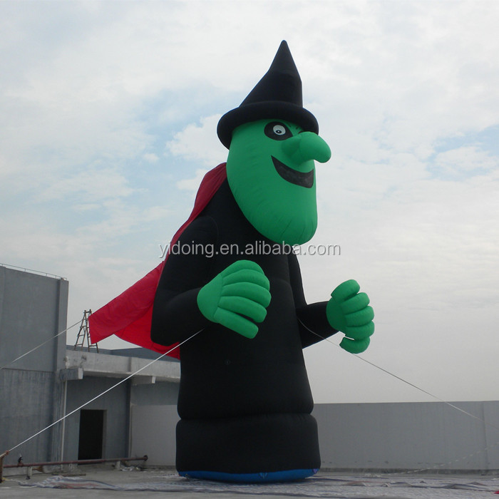 Giant inflatable wizard hot sale inflatable balloons,halloween inflatable scary giant C1046 -2
