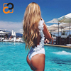 Backless Open Sexy Photo Bathing Suit One Piece Beachwear Dresses TZ254