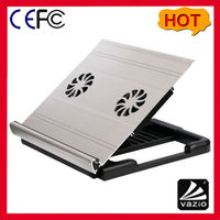 iDock A1 usb notebook laotop cooler cool pad with 2 70mm fans and height adjustable