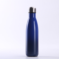 Hot Selling Amazon 500ml Double Wall Stainless Steel Water Bottle