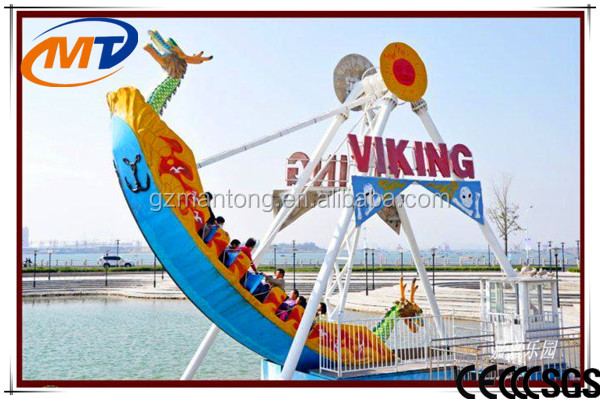 Kids outdoor attraction pirate ship for sale