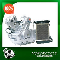 Water Cooled 200cc 2 cylinder motorcycle Engine, V- Shape 2 Cylinder Engine Electric Start