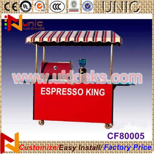2014 collapsible cart with wheels mobile ice cream cart with wheels