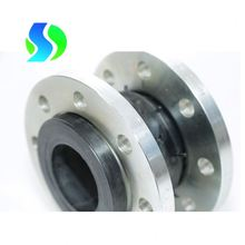 6 inch flanged single sphere rubber expansion joint for flexible pipe