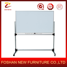 2017 Excellent quality customized magnetic Mobable white board with roller Moblie whiteboard with stand