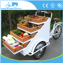 OEM style utility tricycles with basket food cart fruit truck