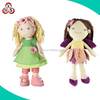 Wholesale cute baby stuffed soft plush dolls for kids