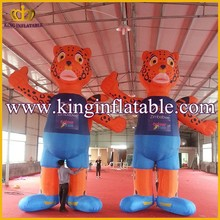Outdoor Advertisign Inflatable Animal, Giant Inflatable Tiger