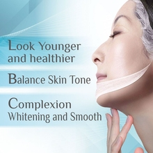 GMP Certified Companies Elastic For Face Mask Glutathione Whitening Facial Mask