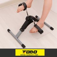 Website Selling Waterproof22.6*14*13.7cm Adjustable Home pedal and hand exerciser with meter