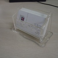 Clear Acrylic Name Card Box Acrylic