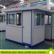 Prefab mobile security guard house