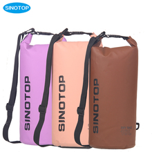 Yiwu promotional import plastic foldable camping dry bag for outdoor activities