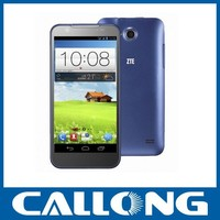 Original ZTE V956 mobile phone 4.5 Inch IPS Russian Qualcomm MSM8625Q Quad Core android cellphone 3G smartphone