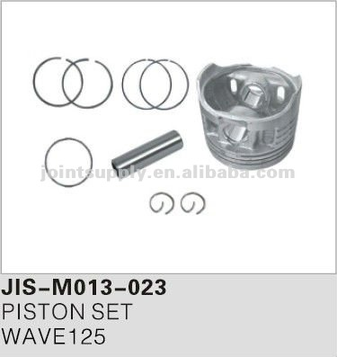 Motorcycle spare parts and accessories motorcycle piston set for WAVE125