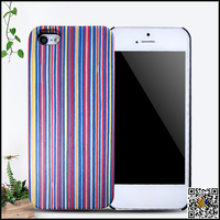 newest mobile phone housing PC wood case for iphone 5,cheap phone case