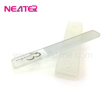 Promotion Gift Emery Board Top Quality Custom Printed Glass Nail File