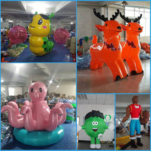 Best price!!!!mascot costume scooby doo ,pikachu toy inflatable,inflatable transformers toy