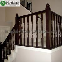 High Quality customized style round handrail for stair With Stable Function