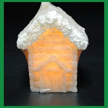 christmas led candle wholesale cute house shaped decorative candles
