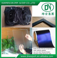 Good quality EPDM glazed solar thermal collector,profile gasket