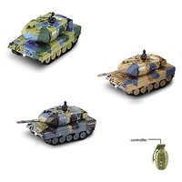 1:77 RC popular and best mini electronic tank for kids EN71