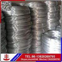 ISO factory galvanized tie wire/ gi wire china manufacturer, galvanized iron wire