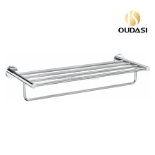Brass Bathroom Accessories Towel Rack With Bar