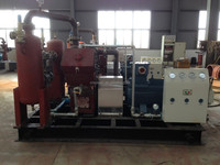 ethylene/propylene/petrol gas/helium gas compressor,oil free reciprocating fueling cylinder/power plant/food industry