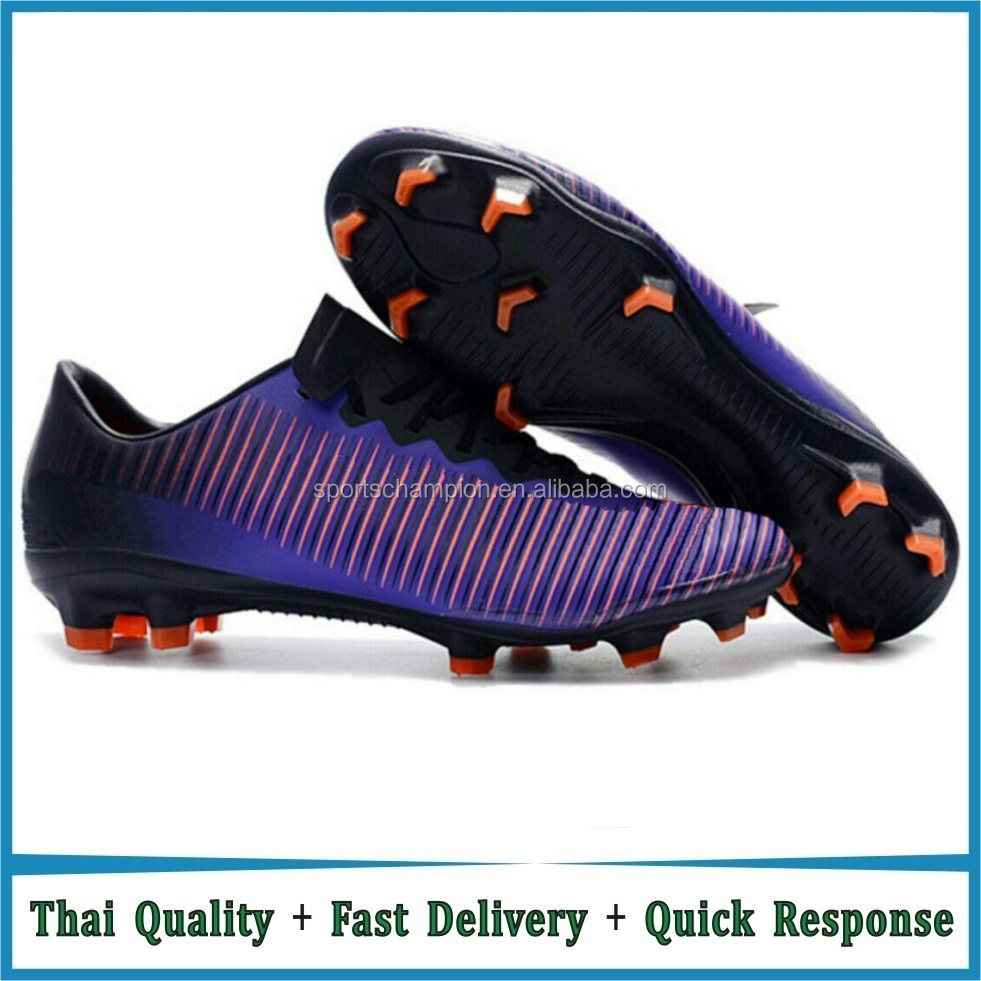 Outdoor Soccer Shoes Adults Athletic Training Soccer Cleats HG & AG Rubber Sole Football Boots botas futbol